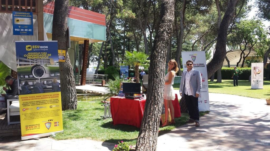 El stand de ESVisión fue uno de los más visitados