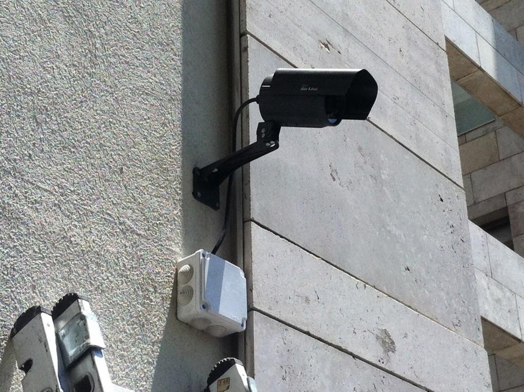 Videovigilancia sin permiso de los vecinos