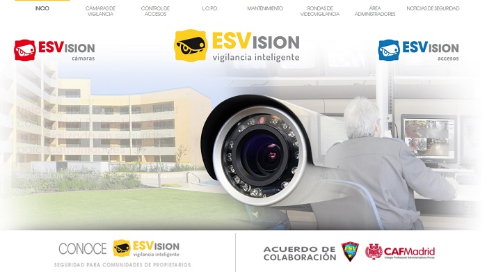 ESVision Seguridad con vigilancia