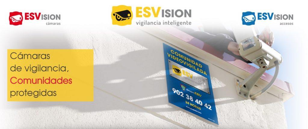 cámaras de vigilancia ESVsion Seguridad