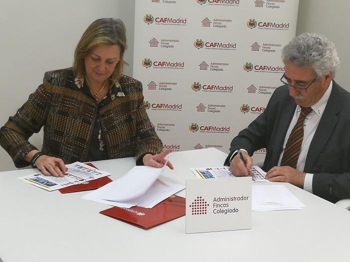 Renuevan contrato ESVison Seguridad y CAFMadrid