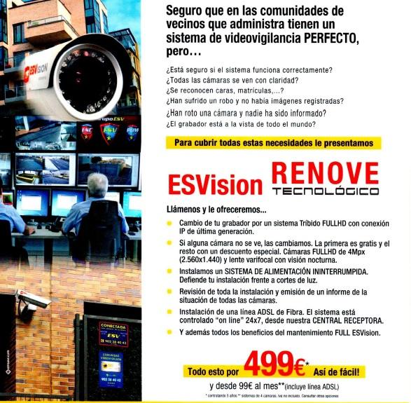 Plan renove seguridad ESVision